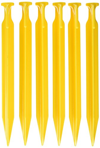 Coghlan's 9309 ABS 9' Tent Pegs - Pack of 6, Multicolor