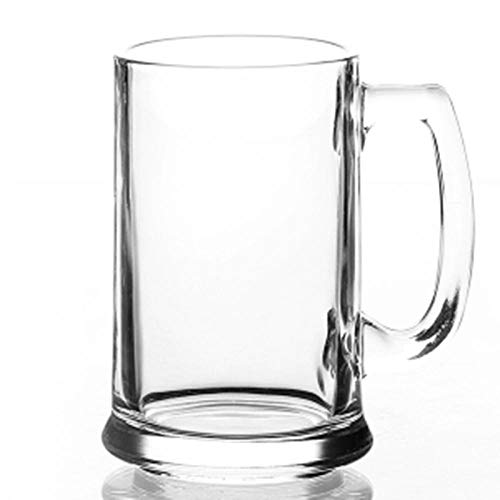 Bier Bril Bier Mokken Glas met Handdoek, Thee, Home Beer, Grote Bier, Melk Drinken, 400Ml Beer Mug