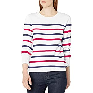 Amazon Essentials Women's 100% Cotton Crewneck Sweater