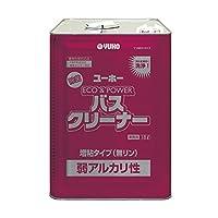 ユーホーニイタカ 弱アルカリ性浴室洗浄剤 エコ&パワーバスクリーナー弱アルカリ性 18L×1個
