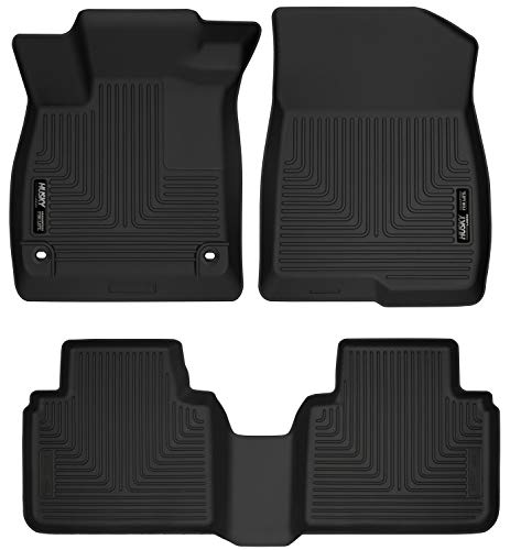 Husky Liners - 95741 Fits 2018-19 Honda Accord Sedan Weatherbeater Front & 2nd Seat Floor Mats Black