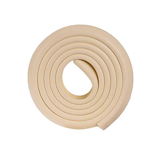 2M en forma de U Muebles extra gruesos Borde de la mesa Corne r Protecciones Cubierta de escritorio Protectores Espuma Baby Safety Bumper Guard - Beige