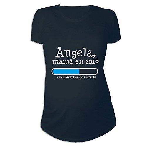 Calledelregalo Regalo Personalizable para Mujeres Embarazadas: Camiseta