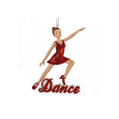 Kurt Adler 'Dance' Girl Christmas Ornament