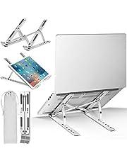ivoler Laptop standaard, verstelbare multi-hoek opvouwbare, Draagbare tablethouder voor Lichtgewicht ruimtebesparende ergonomische ladehouder compatibel met iM ac, Laptop, Notebookcomputer, Tablet