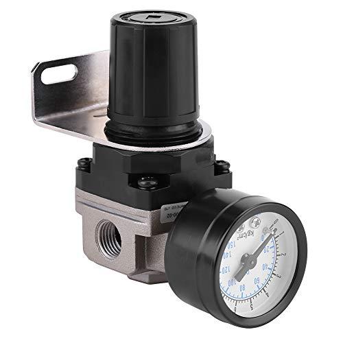 Haofy Pneumatischer Luftdruckregler, Einstellbarer Luftdruckverdichter Steuerventil G1 / 4 Anschluss