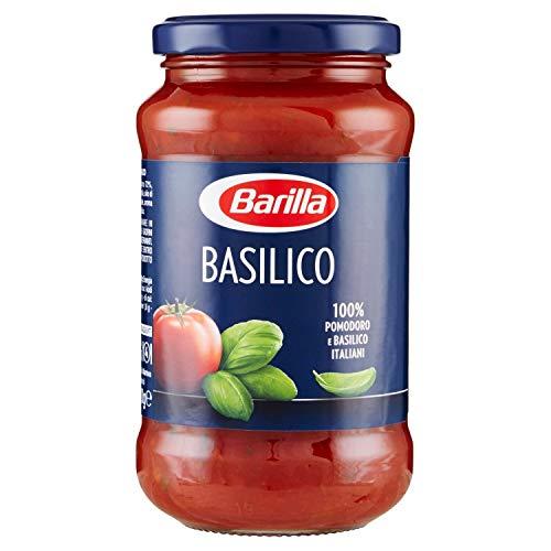 Barilla Sugo al Basilico, con Ingredienti 100% Italiani, Senza Glutine - 400 gr