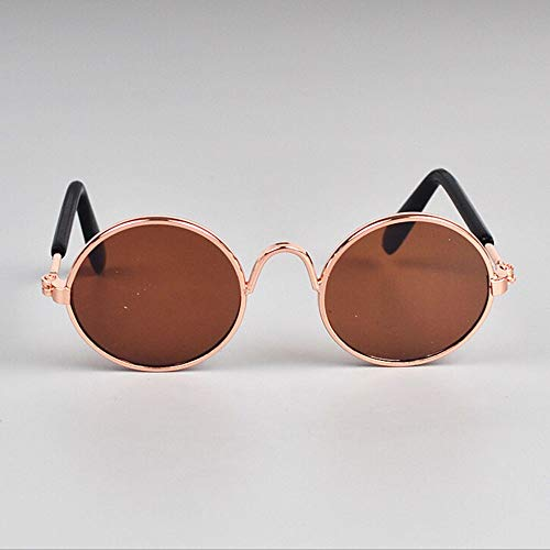 Stephanie Dog Accessories – 1 stuk Lovely Pet Cat Glasses hond kat oogwear dog zonnebrillen fotoaccessoires – 1 stuk, H - one size