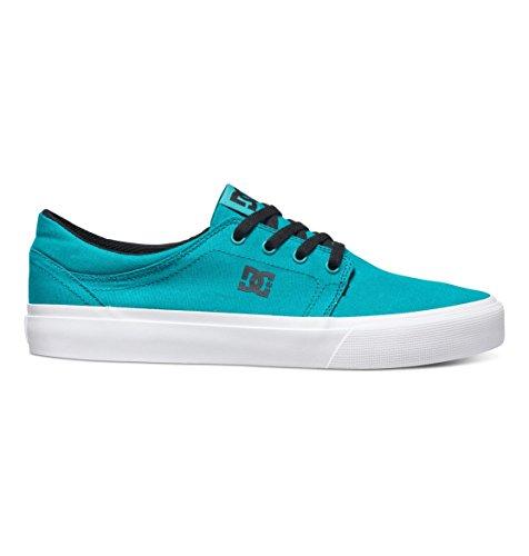 DC Herren Trase Tx Damen-Skater-Schuh, türkis/schwarz, 34 EU