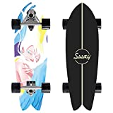 VOMI Surf Skate 32', CX7 Carving Truck Pumpping...
