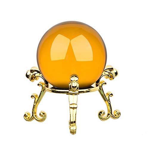 FEIYIYANG Bola de Cristal Bola de Cristal de 40 mm con Placa...