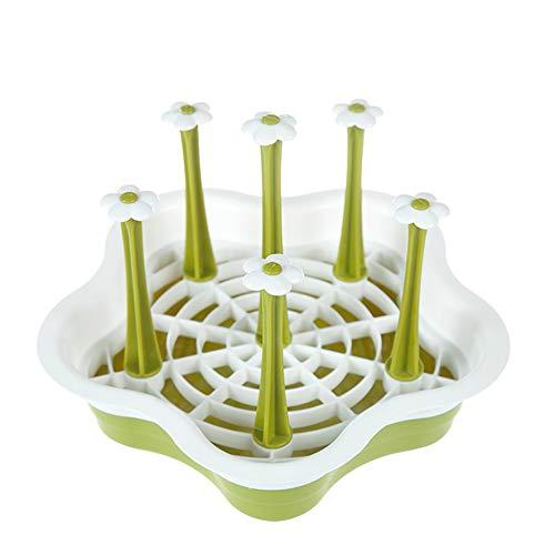Dejar goteo en la cesta de agua, soporte para tendederos, escurrir limpia y extraíble, soporte para botellas, accesorios de cocina.