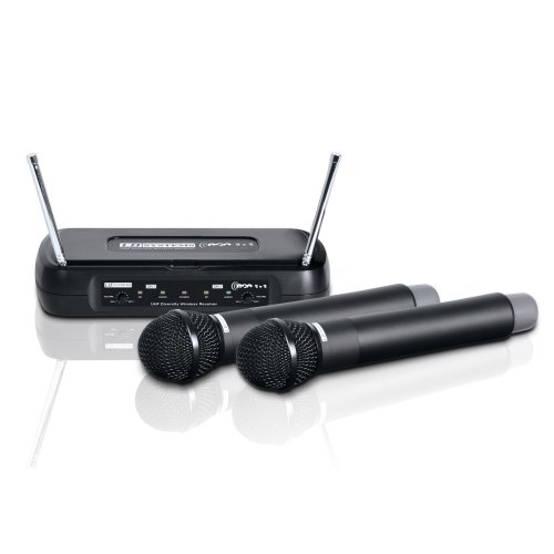 LD Systems LDWSECO2X2HHD1 - Micrófono inalámbrico (2 canales)