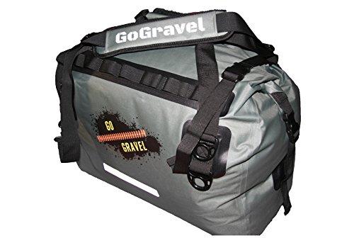 GoGravel 'Little Karoo' 40L Kompression wasserdicht Seesack für Abenteuer Ausflüge mit dem Motorrad