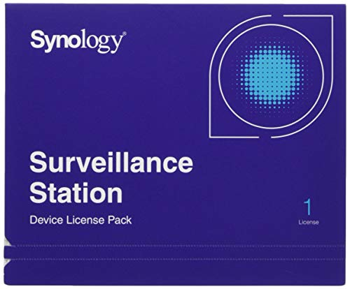 Synology Camera License Pack 1 license 1xCamera Pack,Physical