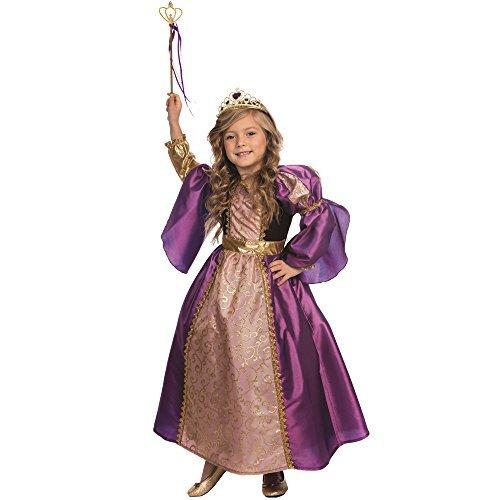 Dress Up America Purple Princess Princess Costume pour les filles Little Princess Dress par Dess Up America