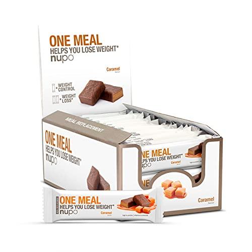 Nupo Nupo one meal maaltijdvervanger Karamel proteine reep