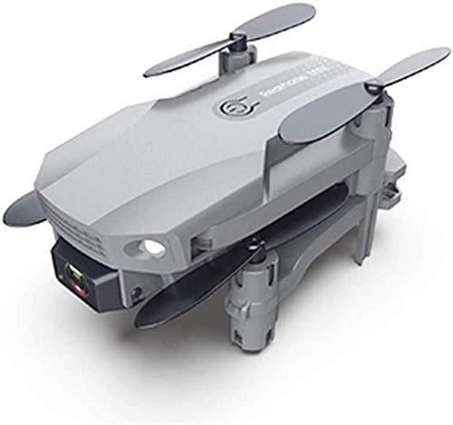 Mini Drone 4K HD Cámara de Doble Lente Video en Vivo, WiFi Transmisión en Tiempo Real FPV La Altura Mantiene Plegable RC Quadcopter Juguete Auto Hover RC Quadcopter para Adultos, 2 baterías