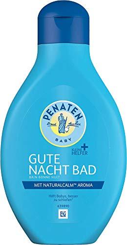 Penaten Kleine Helfer Gute Nacht Bad, mit Naturalcalm Aroma, 3er Pack (3 x 400 ml)