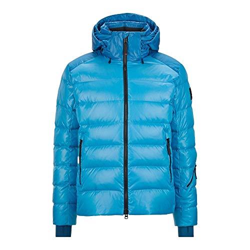 Bogner Fire + Ice Mens Lasse3-D I Blau, Herren Daunen Freizeitjacke, Größe 50 - Farbe Glacial Blue