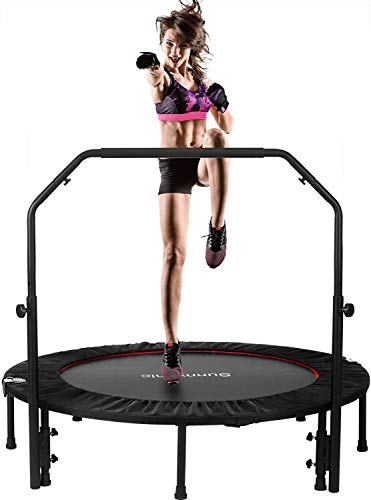 Sunnychic 48' Foldable Fitness Trampolines, Rebound Recreational...