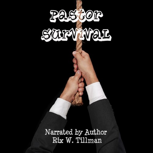 Pastor Survival audiobook cover art