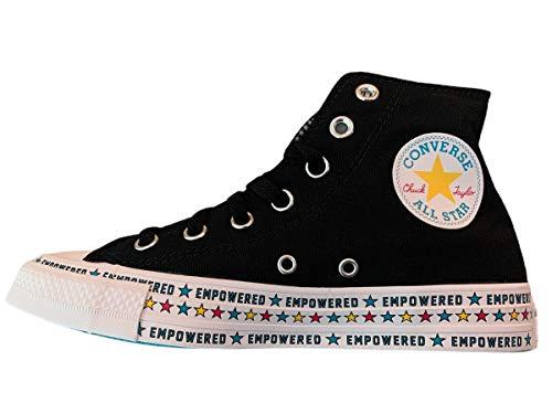 Converse Chuck Taylor Empowered All Star - Zapatillas altas para mujer, Negro (Negro), 42 EU