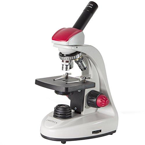 LABOTECA Mono Advanced Compound Monocular Microscope, Brightfield, LED Illumination, Abbe Condenser