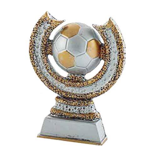Art-Trophies AT4138 Trofeo di partecipazione, Adulti, Unisex, Multicolore, 14 cm