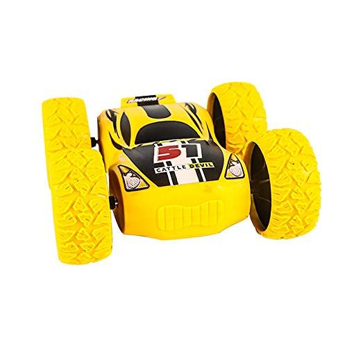 Hunpta - Juguetes de coche con doble cara de 360 ° para acrobacias inerciales, vehículos educativos para Navidad, cumpleaños, regalo para niños y niñas