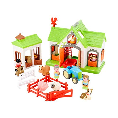 Early Learning Centre 148425 HAPPYLAND Cherry Cottage Mehrfarbig