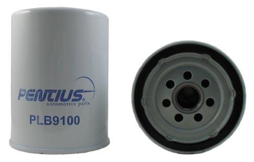Pentius PLB9100-12PK Red Premium Line Spin-On Oil Filter, (Pack of 12) for Chevrolet Silverado 2500/3500,GMC Sierra 2500/3500, V8 6.6L Turbo Diesel