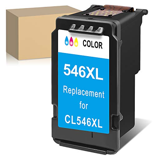 ATOPolyjet Remanufactured for CL 546 XL Cartucce Stampante CL-546XL 1 Pack per Pixma TS205 TS3150 TR4550 MG2550S MX495 TR4550 IP2850 MG2450 MG2550 MG3051 MG3052 TS3151 (1 Colore)