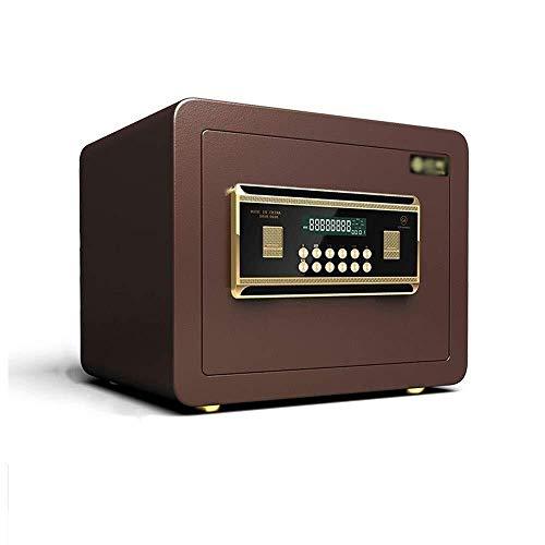 Insurance kabinet Brandkasten huis Money, 25cm All Steel Electronic Password Safe Box met alarmfunctie for Bank Enterprise Hotel Store Jewelry Cash Kostbaarheden Document Kluis (Color : A)