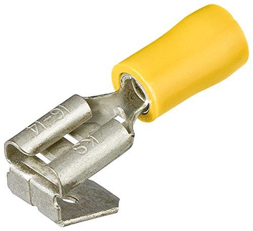 KNIPEX 97 99 092 Flachsteckhülsen mit Abzweig isoliert