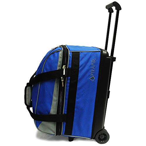 Pyramid Prime Bowlingtasche mit 2 Rollen, Royal Blue/Silver