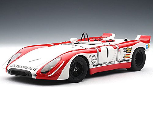 Porsche 908/02, No.1, Redman/Siffert, Watkins Glen, 1969, Modellauto, Fertigmodell, Auto Art 1:18