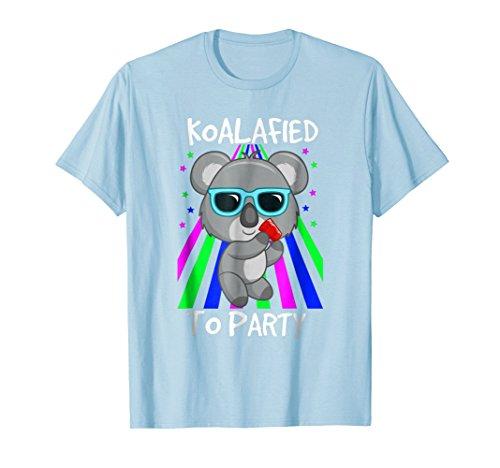Koalified To Party Funny Koala Bear Pun Gift T Shirt