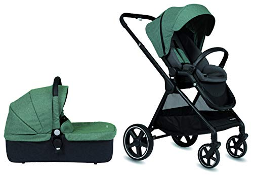 Cochecito de paseo Casualplay Optim con capazo, color green