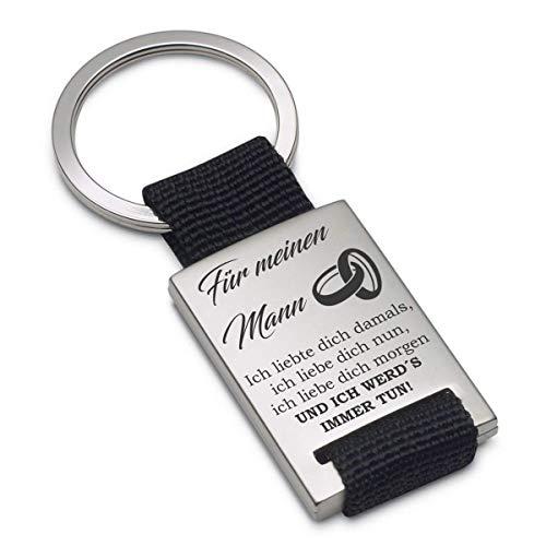 Lieblingsmensch Schlüsselanhänger Modell: Ich liebte Dich damals… - Mann