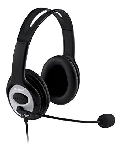Microsoft LifeChat LX-3000 Digital USB Stereo Headset/Headphones with Noise...