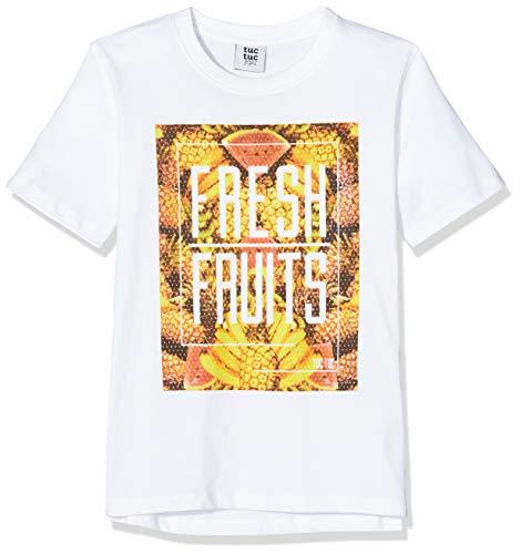 T-Shirt Jersey Frutti Bambino Bianca Fresh Fruits