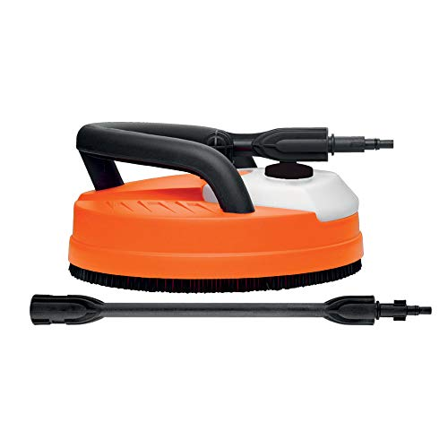 Black + Decker patio Cleaner Bodemreinigingsaccessoires voor hogedrukreinigers Patio cleaner deluxe Arancio