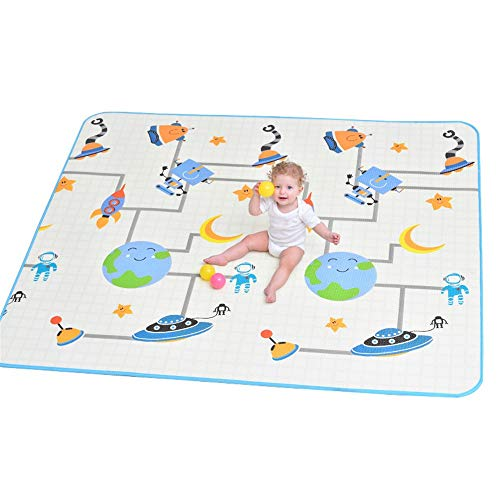 Great Deal! Kids Play Mat Play Mat Baby Crawling Mat Kids Playmat Waterproof Non Toxic for Babies In...