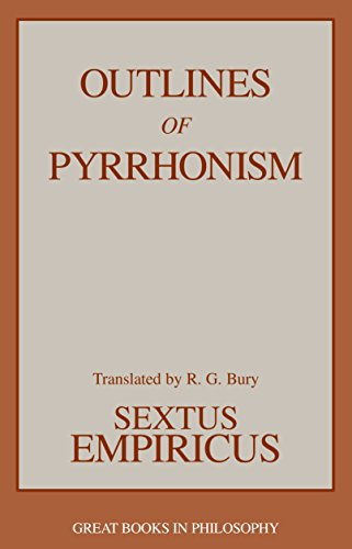 Outlines of Pyrrhonism (Great Books in Philosophy)