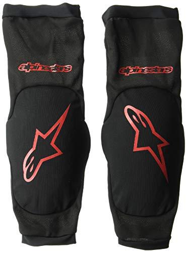 Alpinestars Paragon Plus - Protezione per gomiti, da uomo, colore: nero, rosso, L