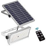 KKSY Luz Solar al Aire Libre, 65 LED Luz de Seguridad con Sensor...