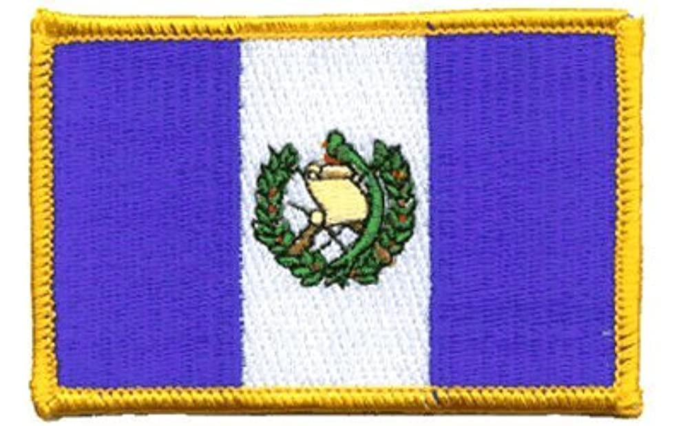Guatemala iron-on embroidered patch