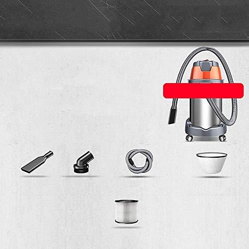 HNLSKJ Inalámbrico Aspiradora Aspirador -35L Gran Capacidad de Tres Fines de Lavado de Coches 1600W aspiradora de Alta Potencia Comercial, potentes aspiradoras sin Cable (Color: B) (Color: B) ggsm