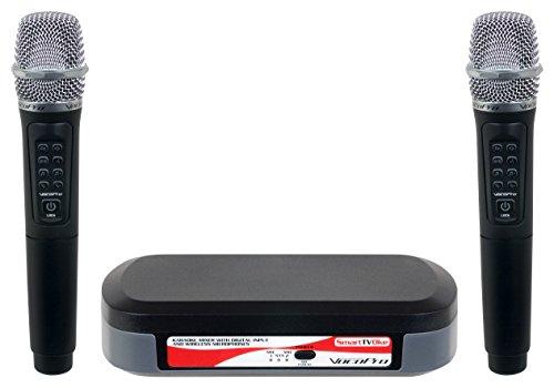 VocoPro - SMARTTVOKE - Karaoke Mixer with Digital Input & Wireless Microphones